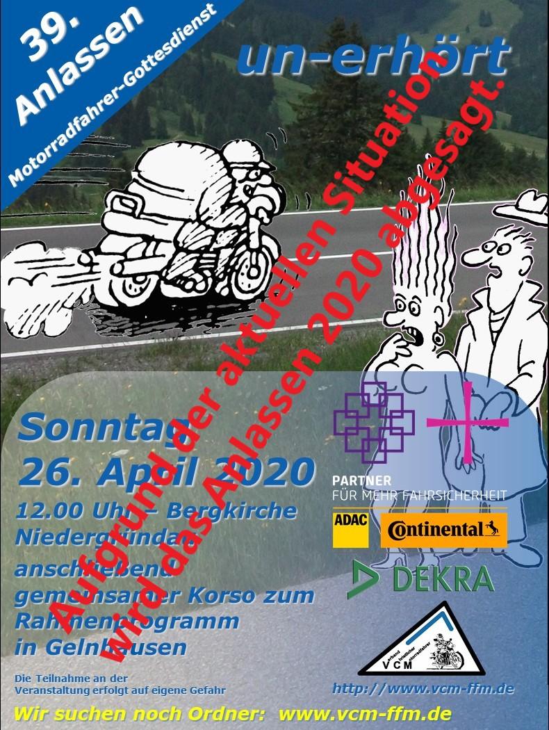 Motorradgottesdienst Hamburg 2021